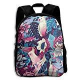Tropical Parrot Plams Kid Boys Girls Toddler Pre School Backpack Bags Lightweight