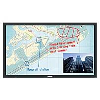 "Panasonic Th-65bf1u 65"" Lcd Touchscreen Monitor - 16:9 - 6.50 Ms - Infrared - Multi-touch Screen - 1920 X 1080 - Full Hd - 50,000:1 - 350 Nit - Edge Led Backlight - Speakers - Dvi - Hdmi - Usb - Vga - 2 X Hdmi In - Black"