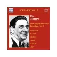 Tito Schipa Edition, Vol 2 - The Complete Recordings 1924-25, Vol 2