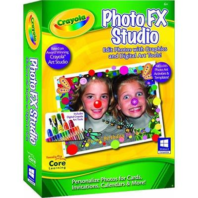 Core Learning Crpf-1030-esd Crayola Photofx Studio -