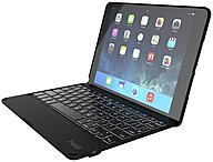 Zagg Keyboard/cover Case (folio) For Ipad Air 2 - Dust Resistant, Ding Resistant, Scratch Resistant - Leather - Leather-textured - English, French Keyboard Localization Id6zfn-bb0