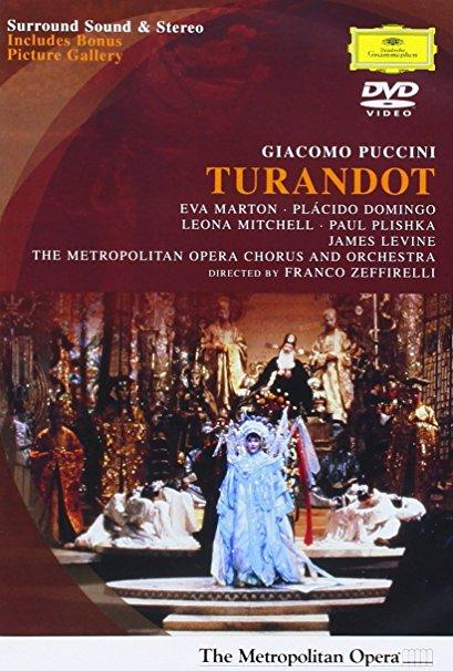 James Levine & Eva Marton & Kirk Browning-Puccini: Turandot at the Metropolitan Opera