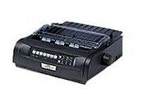 Okidata Microline 91909701 420 Dot Matrix Printer - 240 X 216 Dpi - 120v Ac - 9-pin - 570 Cps - Parallel And Usb - Black
