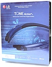 Lg Tone Active  Wireless Stereo Headset - Stereo - Black, Blue - Wireless - Bluetooth - 33 Ft - Behind-the-neck, Earbud - Binaural - In-ear Hbs-a100.acusbli