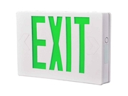 All-pro Emergency Ac Only Led Exit Sign, Green Letters Cooper Lighting Apx6g