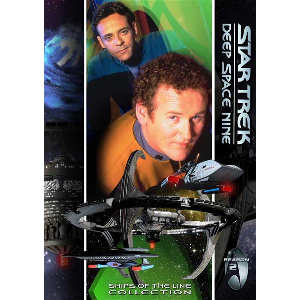 Star Trek: Deep Space Nine Poster Movie F 11 x 17 In - 28cm x 44cm Avery Brooks Rene Auberjonois Nicole de Boer Michael Dorn Terry Farrell Cirroc Lofton