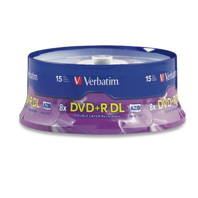 Verbatim 95484 15 X Dvd r Dl - 8.5 Gb 8x - Spindle