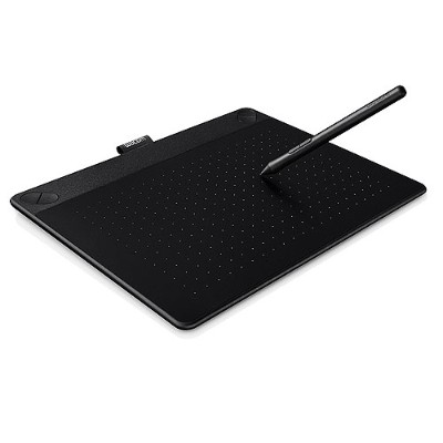 Wacom Cth690ak Intuos Art Medium - Digitizer - 8.5 X 5.3 In - Multi-touch - Electromagnetic - 4 Buttons - Wired - Usb - Black