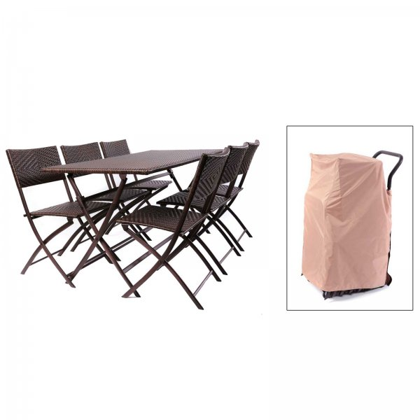 Perfect Folding Table and Chair Set - by Red Star Traders - OP-PEFT-ST