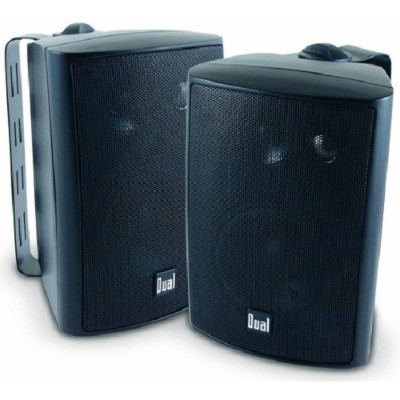 Dual Electronics Lu43pb 3-way Indoor/outdoor Speakers (black)