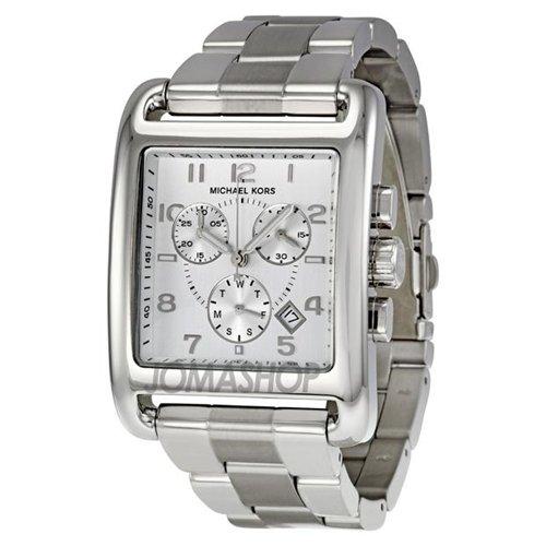 Michael Kors Casual Classic Chronograph Silver Ladies Watch MK5435