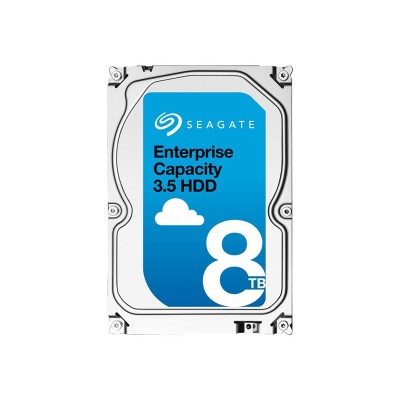 Seagate St8000nm0115 Exos 7e8 St8000nm0115 - Hard Drive - Encrypted - 8 Tb - Internal - 3.5 - Sata 6gb/s - 7200 Rpm - Buffer: 256 Mb - Self-encrypting Drive (se