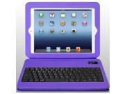 Aluratek Abtk02fv Folio Case W/ Keyboard For Ipad Grape Jelly