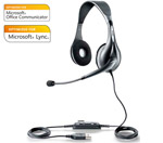Jabra / Gn Netcom Voice 150 Duo Ms Microsoft Optimized Headset