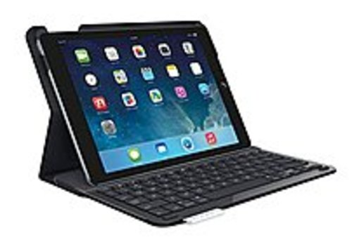 Logitech 920-006909 Keyboard/cover Case For Ipad Air - Black - Bump Resistant Interior, Ding Resistant Interior, Damage Resistant Interior - Fabric -