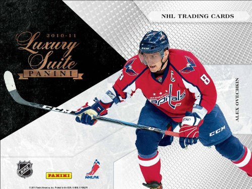 NHL 2010/11 Panini Luxury Suite (4 Packs)