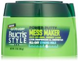 Garnier Fructis Style Mess Maker Power Putty, 3 Ounce