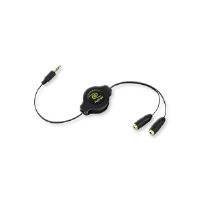 Emerge ETCABLESPLIT Headphone Splitter