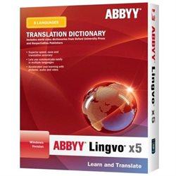 ABBYY Lingvo v.x5 - Upgrade - Language Translation Box - PC