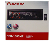 Pioneer Deh-1300mp Cd/mp3 Car Receiver Player Aux