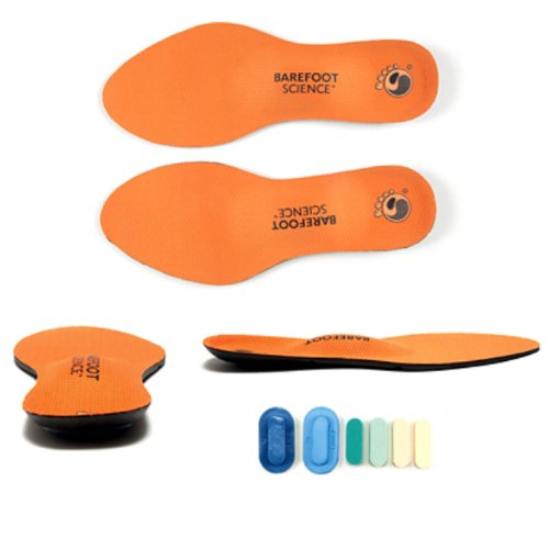 Barefoot Science Foot Strengthening System - 6-Step Active Full Length - Medium - Womens 10-11.5 / Mens 8-9.5