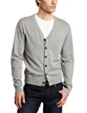 Jack Spade Men's Morandi Cardigan, Light Heather, XX-Large