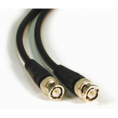C2g 40025 3ft 75 Ohm Bnc Cable - Video Cable - Bnc (m) To Bnc (m) - 3 Ft - Double Shielded Coaxial - Black