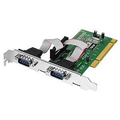 Siig Jj-p20511-s3 Serial 550-value - Serial Adapter - Pci-x - Rs-232 X 2