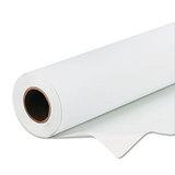 "Scrim Banner Paper For Indoor/outdoor Signage, 24"" X 50 Ft, White"
