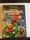 Super Monkey Ball Adventure GAME & CASE for your NINTENDO GAMECUBE system - GC