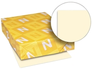 Wausau Paper 82361 Exact Vellum Bristol Cover Stock, 67 lbs., 8-1/2 x 11, Ivory, 250 Sheets