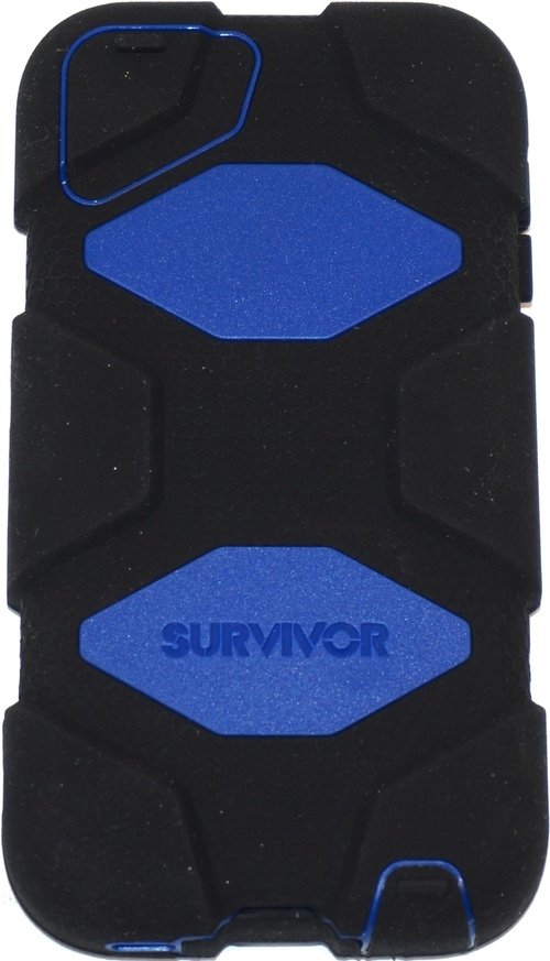 Griffin Technology Gb35697-3 Survivor Case For Apple Ipod Touch 5g - Blue, Black