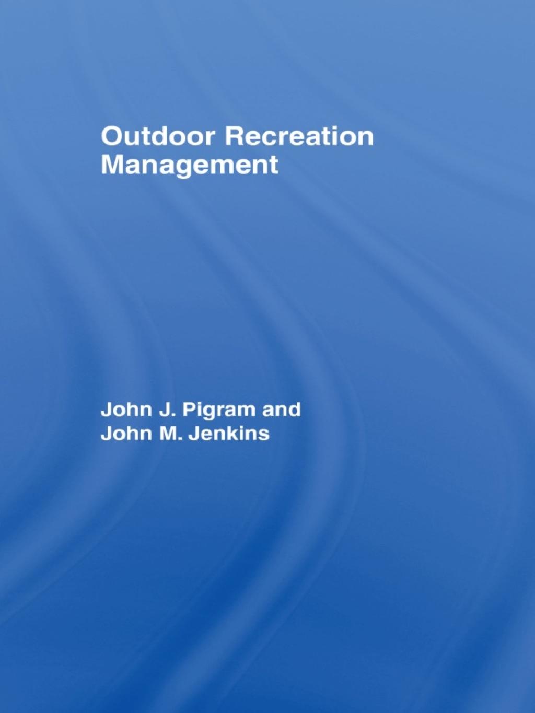 Outdoor Recreation Management (ebook)