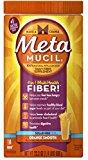 Metamucil Smooth Sugar Free Powder, 114 Teaspoons, Orange 23.3 oz (Pack of 6)