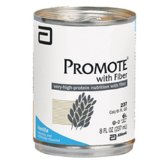 Promote W/Fiber High-Protein Liquid Nutrition Ready-To-Use (Vanilla) 8 Fluid Oz Cans - Case of 24/Cans