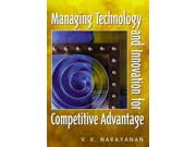 Manageing Technology and Innovation for Competitive Advantage Binding: Paperback Publisher: Pearson College Div Publish Date: 2000/08/01 Language: ENGLISH Dimensions: 9.25 x 7.00 x 1.00 Weight: 2.05 ISBN-13: 9780130305060 Book Type: NON-FICTION