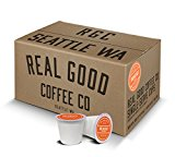 Real Good Coffee Co Recyclable K Cups, Breakfast Blend Light Roast, Keurig 2.0 and 1.0 Compatible, 72 Single Serve Coffees
