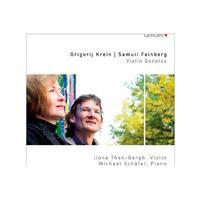 Grigorij Krein, Samuil Feinberg: Violin Sonatas (Music CD)