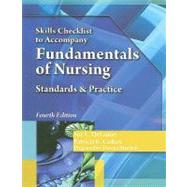 Skills Checklist for DeLaune/Ladner's Fundamentals of Nursing, 4th