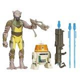 Star Wars Rebels 3.75-Inch Figure 2-Pack Forest Mission Garazeb Orrelios and C1-10P