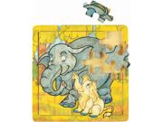 Elephant And Baby Jigsaw Puzzle