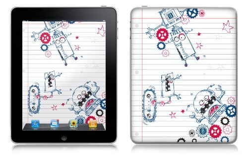 Pierre Belvedere 076750 Removable Skin For Apple Ipad - Robots