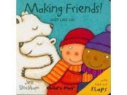 Making Friends! Just Like Us Ltf Brdbk