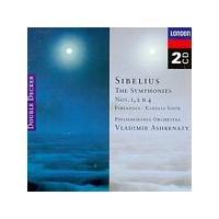 Jean Sibelius - Symphonies No. 1, 2 & 4 (Ashkenazy) (Music CD)