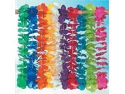 Mega Plastic Lei Assortment (100 Plastic Flower Leis)