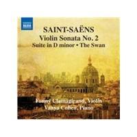 Saint-Saëns: Violin Sonata No. 2; Suite in D minor; The Swan (Music CD)