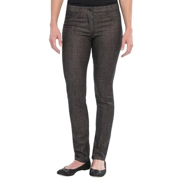 Nic Zoe Scarlett Sparkle Splash Pants - Stretch Cotton, Slim Leg (For Women)