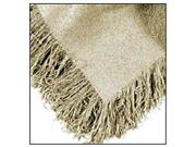 Linen Colored Homestead Afghan Throw Blanket 50 x 60