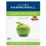 Hammermill Color Copy Digital, 28lb, 8-1/2 x 11 Inch, 100 Bright, 500 Sheets/1 ream (102467)