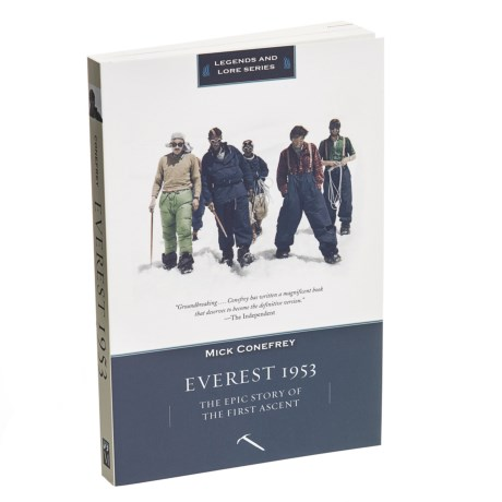 Everest 1953: The Epic Story Of The First Ascent Book - Paperback